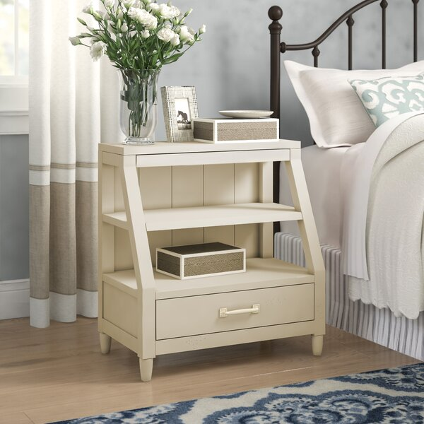 Reeves Open-Shelf 1 Drawer Nightstand by Birch Lane™ Heritage