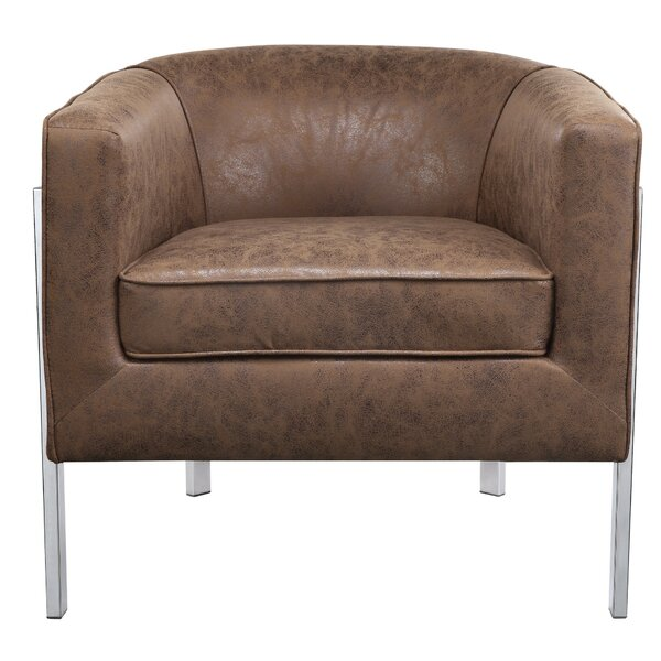Hoard Accent Barrel Chair by Orren Ellis
