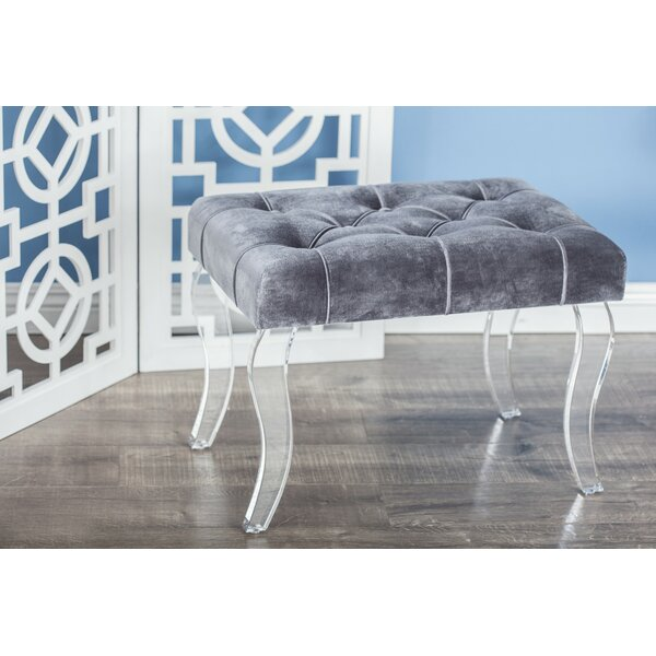 Fabric Ottoman by Cole & Grey