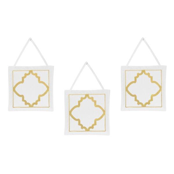 Ava Wall Hangings (Set of 3) by Sweet Jojo Designs