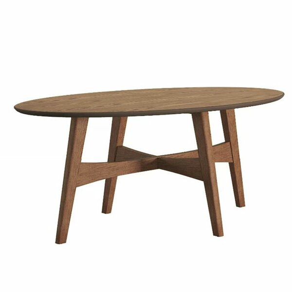 Oval coffee tables you39ll love wayfair for Wayfair oval coffee table