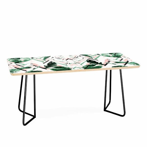 Tropical Paint Texture Coffee Table By East Urban Home