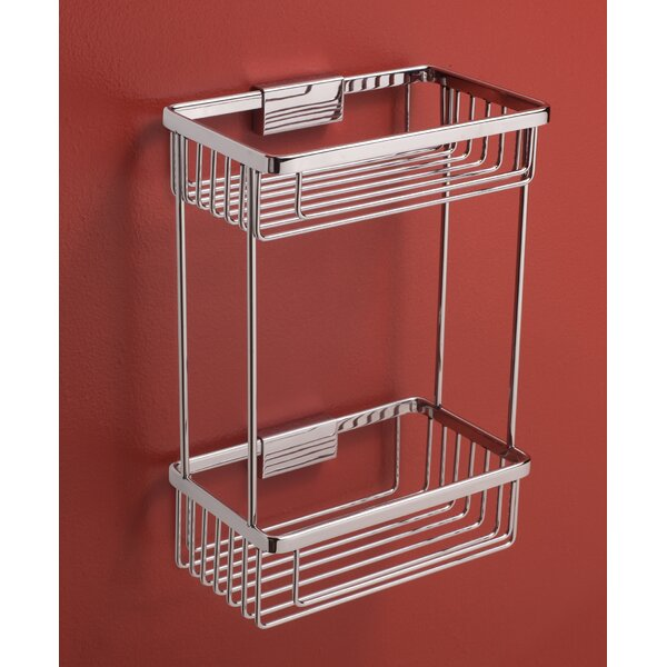 Double-Tier Shower Caddy by Rebrilliant