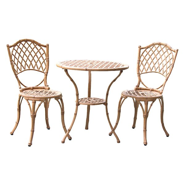 3 Piece Bistro Set by Innova Hearth and Home