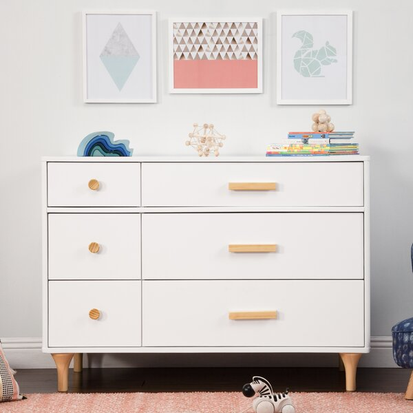 Lolly 6 Drawer Double Dresser by babyletto