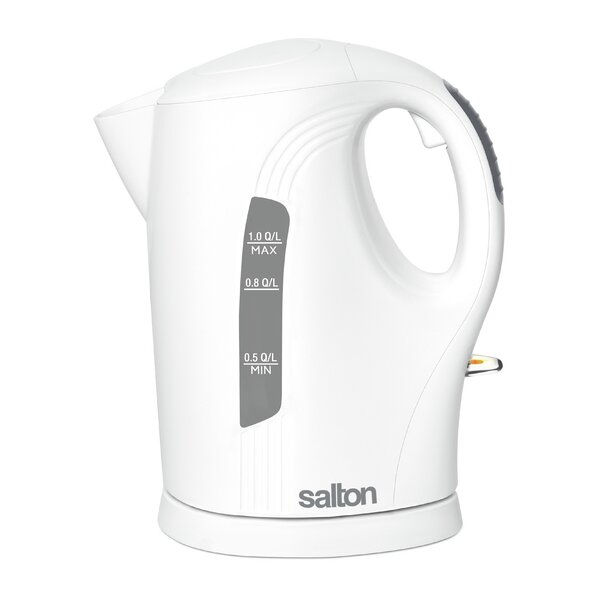 1 Qt. Stainless Steel Cordless Electric Tea Kettle by Salton