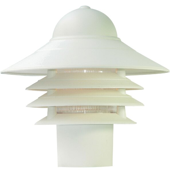Caja Outdoor 1-Light Lantern Head by Breakwater Bay