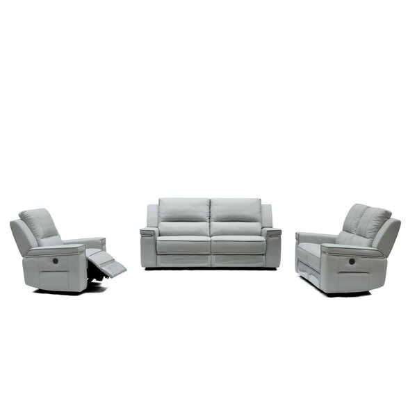 Review Gilmore Reclining Configurable Living Room Set
