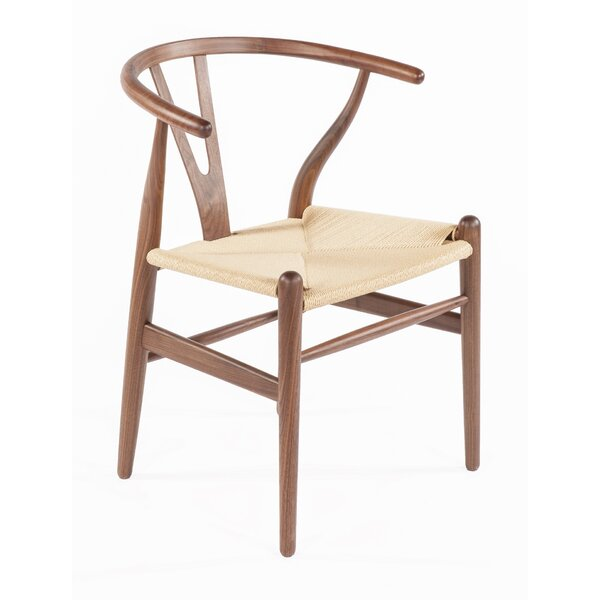 Y-Chair Solid Wood Windsor Back Side Chair By Stilnovo
