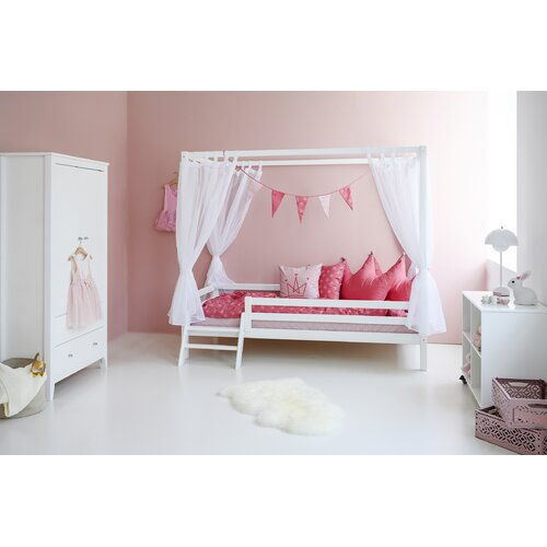 Basic Four Poster Bed Hoppekids Size: 70 x 160 cm