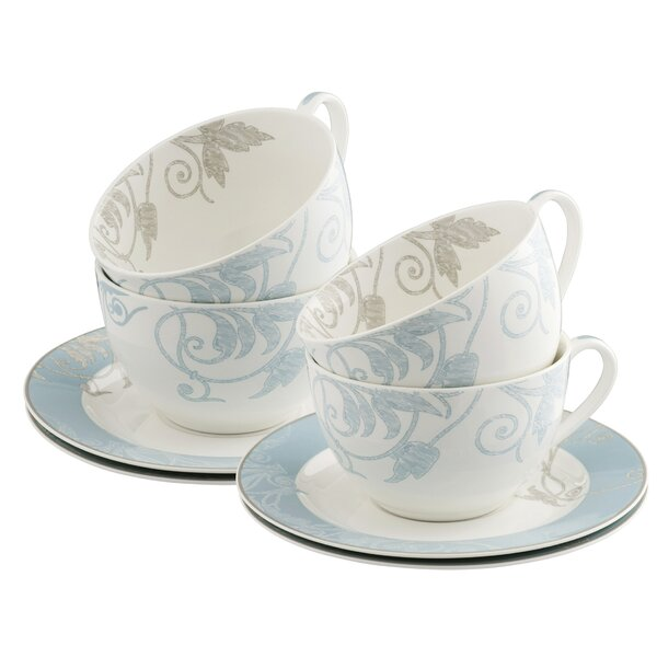 Novello Teacup and Saucer (Set of 8) by Belleek Group