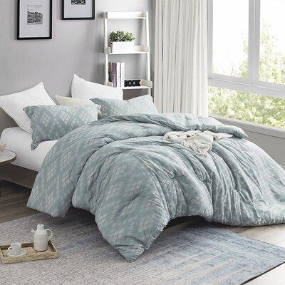 Droitwich Argyle Comforter Set Wrought Studio Size: Twin XL Comforter + 1 Sham