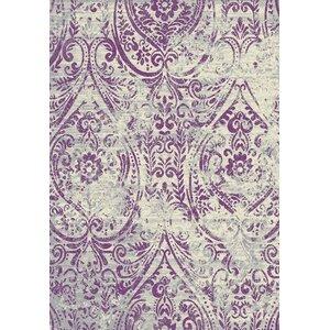 Edmond Lavender/Beige Area Rug