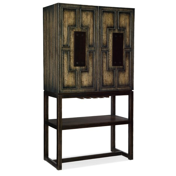 Crafted Bar Cabinet By Hooker Furniture