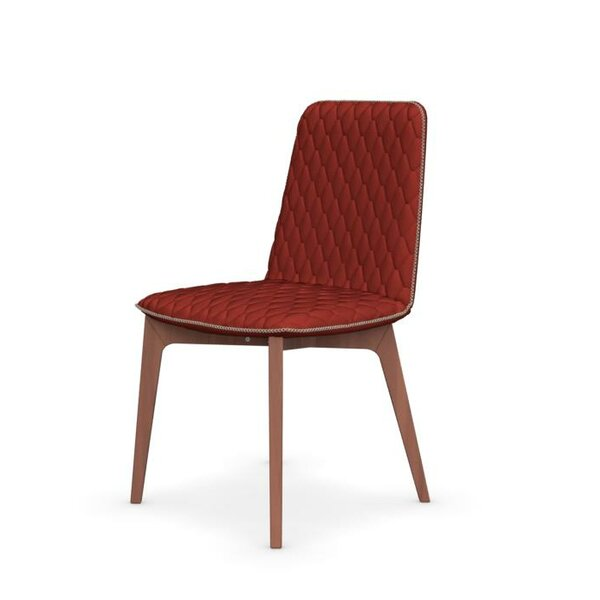 Sami Cotton Upholstered Side Chair by Connubia Connubia