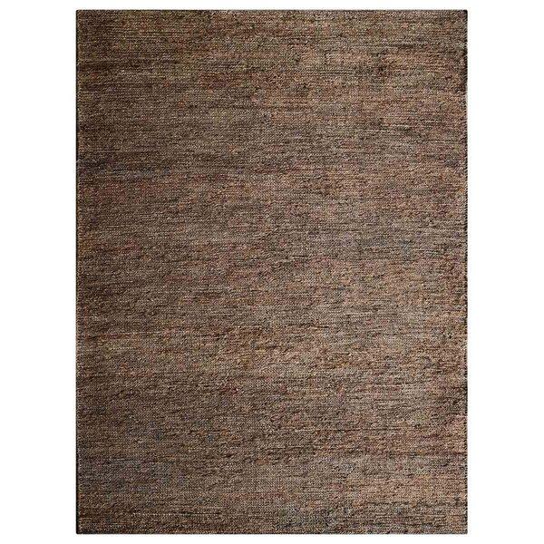 Cozette Hand-Knotted Brown Indoor/Outdoor Area Rug by Bloomsbury Market