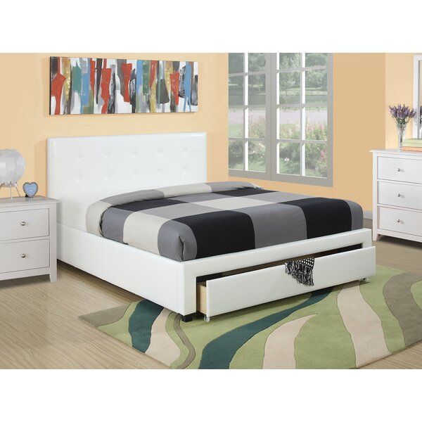 Cramlington Upholstered Storage Platform Bed by Wade Logan