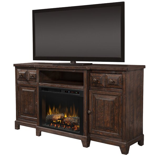Open Storage 66 TV Stand with Fireplace by Dimplex