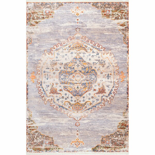 Arvizu Gray Area Rug by World Menagerie