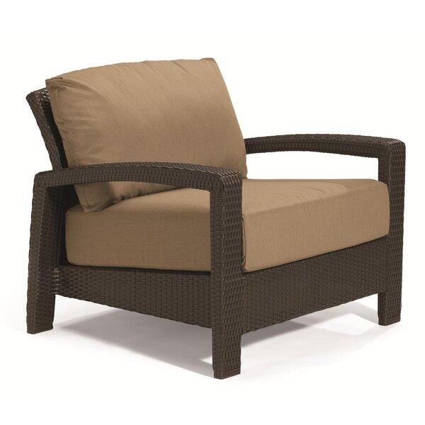 Evo Deep Seating Patio Chair with Cushions by Tropitone