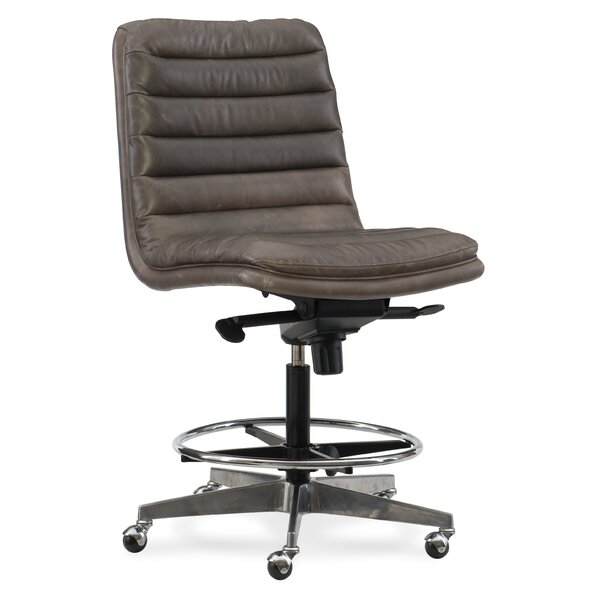 Wyatt Home Office High-Back Leather Office Chair by Hooker Furniture