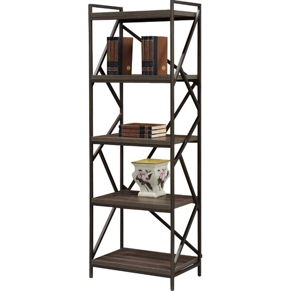 Liao Etagere Bookcase by Wrought Studio