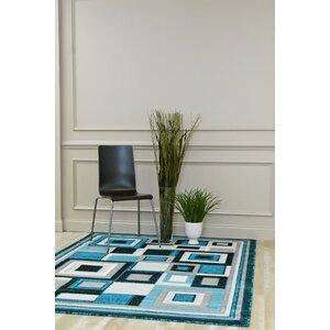 Bennet Turquoise Indoor/Outdoor Area Rug