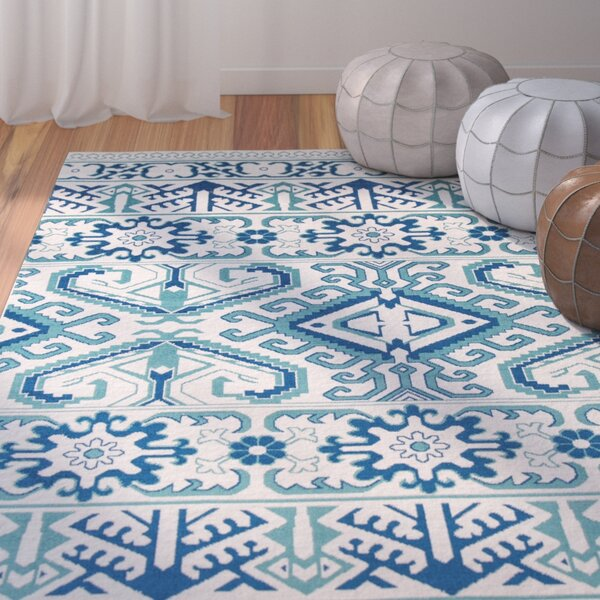 Ty Blue Indoor/Outdoor Area Rug by Bungalow Rose
