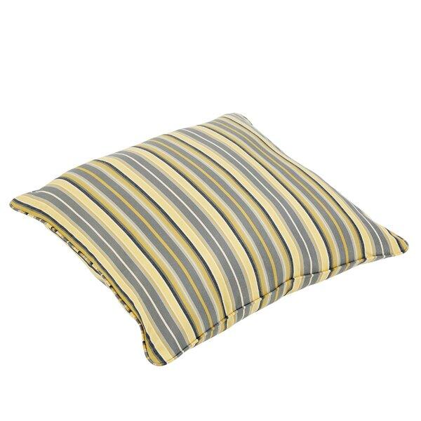 Delacruz Sunbrella Piped Square Euro Pillow by Darby Home Co