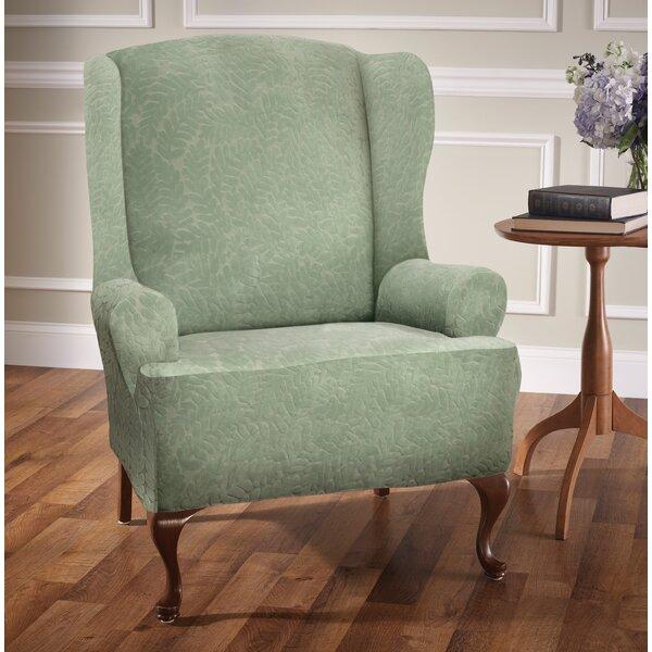 Patio Furniture Stretch T-Cushion Wingback Slipcover