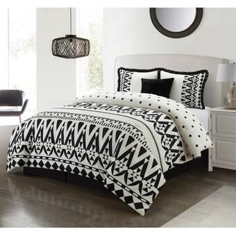 Rosdorf Park Floressa Reversible Comforter Set Wayfair