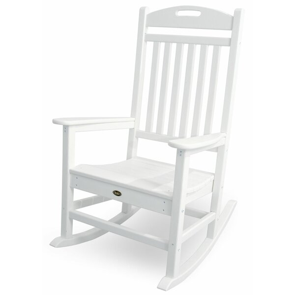 Yacht Club Rocking Chair by POLYWOOD®