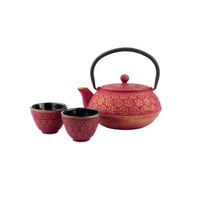 Xilin 2.5 Cup Cast Iron Teapot and Cups