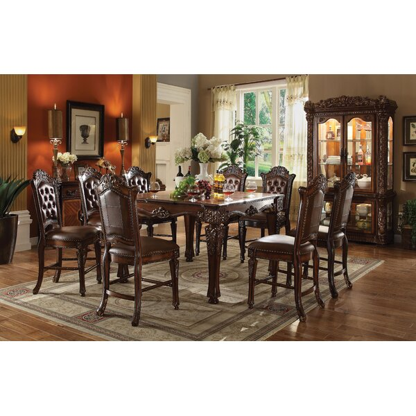 Welles 9 Piece Counter Height Dining Set by Astoria Grand Astoria Grand