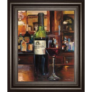 A Reflection of Wine 3 by Marilynn Hagema Framed Painting Print by Classy Art Wholesalers