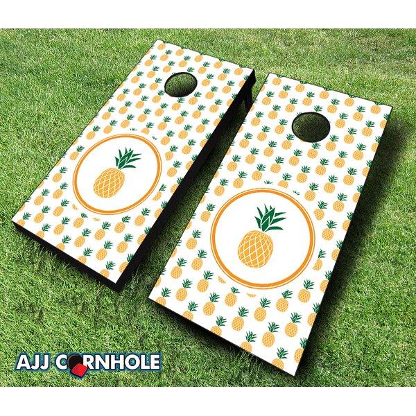 Pineapple Cornhole Set by AJJ Cornhole