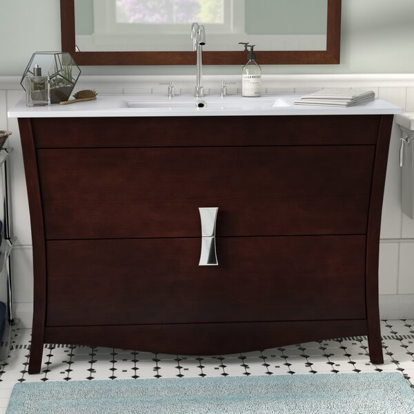 Cataldo Floor Mount 48 Single Bathroom Vanity Set by Royal Purple Bath Kitchen