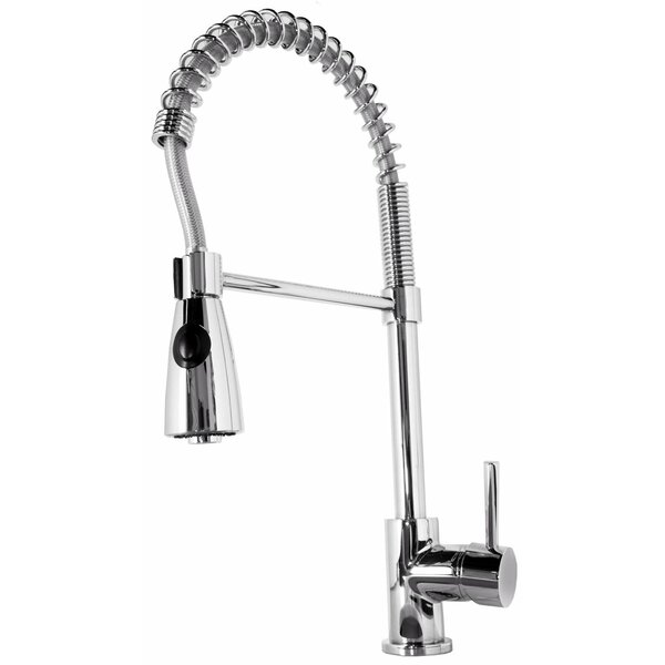 Neso Pull Down Single Handle Kitchen Faucet by Virtu USA