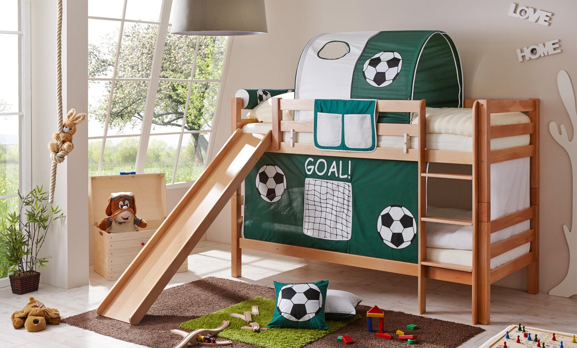 Etagenbett Mit Treppe Und Rutsche : Hochbett mit rutsche die beliebtesten features für kinderzimmer