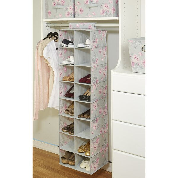 Beatrice 16 Pair Hanging Shoe Organizer by Laura Ashley Home