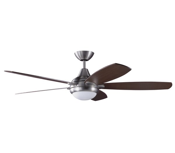 52 Espirit 5-Blade Ceiling Fan with Wall Remote by Kendal Lighting