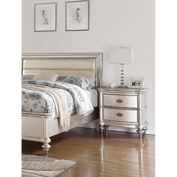 Niemi 2 Drawer Nightstand by House of Hampton
