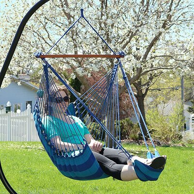 Caleigh Hanging Padded Soft Cushioned Chair Hammock