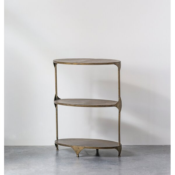 Ingleside Oval Metal End Table By Bungalow Rose
