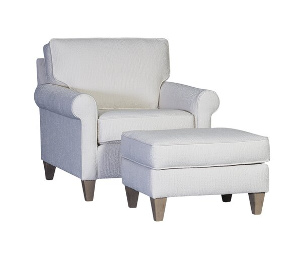 Dennie Armchair and Ottoman