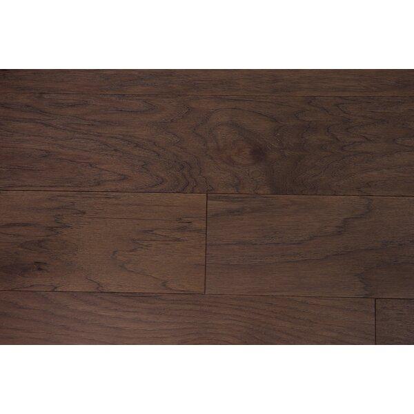 Lisbon 5 Engineered Hickory Hardwood Flooring in Mocha by Branton Flooring Collection
