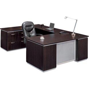 Best Pimlico Personal File U-Shape Executive Desk ByFlexsteel Contract