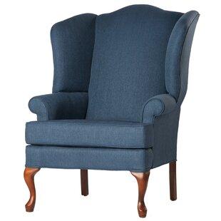 Alanya Wingback Chair ByCanora Grey