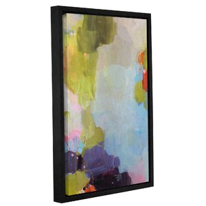'Velvet Skies' Framed Painting Print on Wrapped Canvas by Wrought Studio