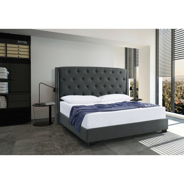 Upholstered Standard Bed by Brady Home